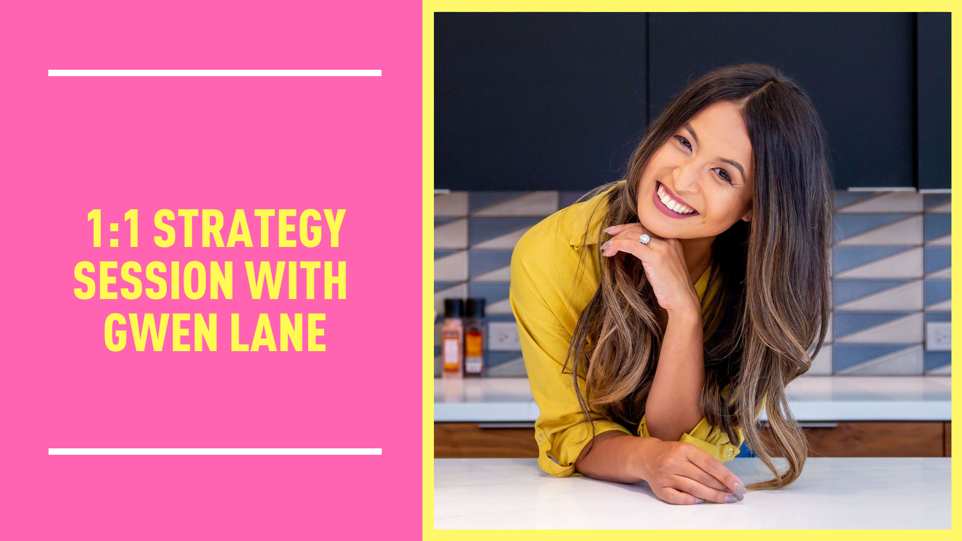 One-on-One Strategy Session with Gwen Lane